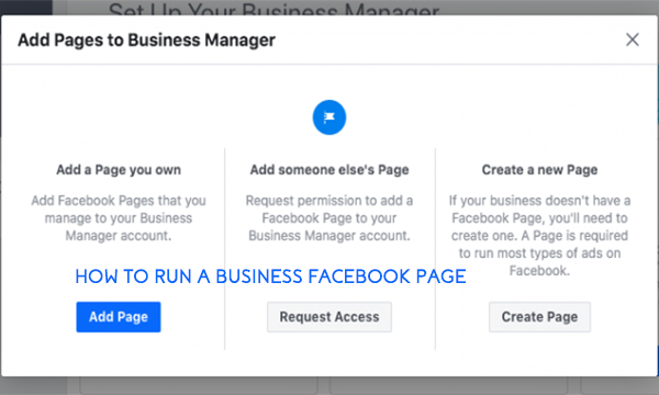 How to Run a Business Facebook Page