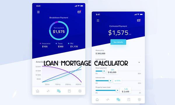 Loan Mortgage Calculator