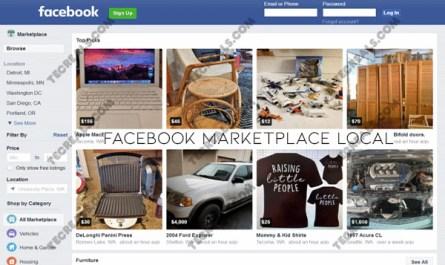 Facebook Marketplace Local