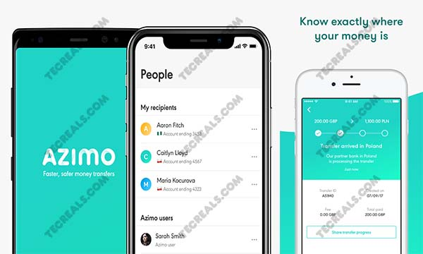 Azimo Money Transfer – Easily Send Money Abroad in Minutes