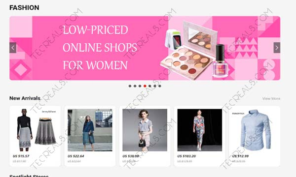 Low-Priced Online Shops for Women – Cut Your Shopping Expenses Today