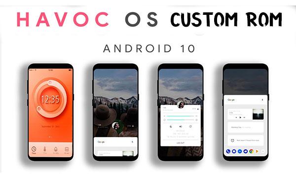 Havoc OS Custom Rom