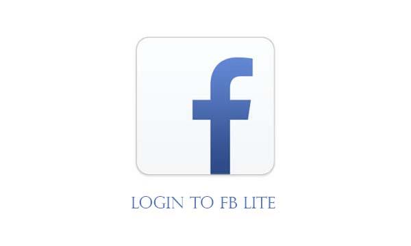 Login to Fb Lite