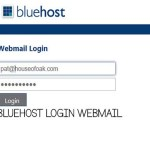 Bluehost Login Webmail