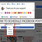 How to Schedule Facebook Posts