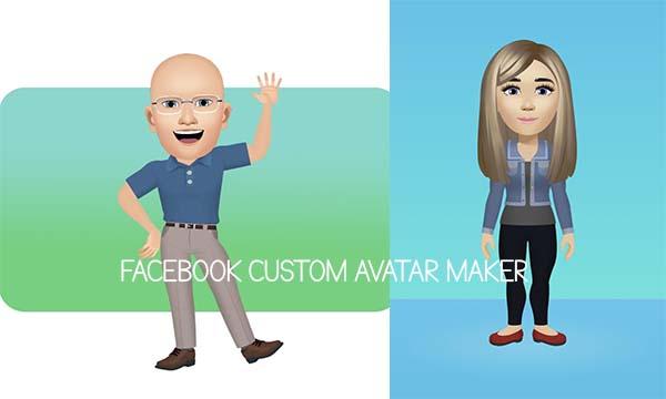 Facebook Custom Avatar Maker