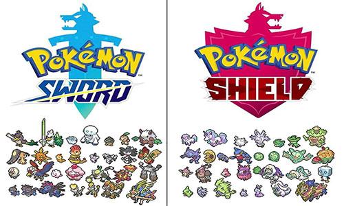 Pokemon Shield Exclusives - Pokemon Shield Exclusives Lists | Pokemon Shield