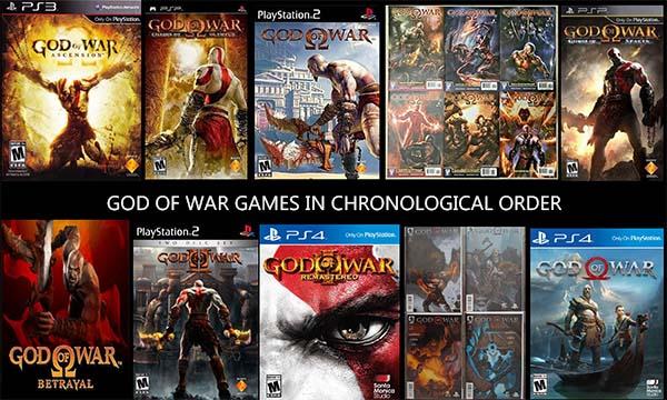 God of War Games in Chronological Order