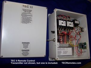Boat Lft Remote Controls, TEC I, TEC II, TEC 12, and TEC IV