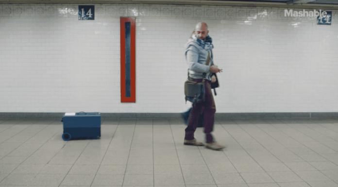 A mala do futuro: Segue seu dono como se fosse um cão