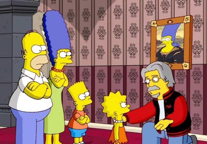 Matt Groening em episódio de Os Simpsons