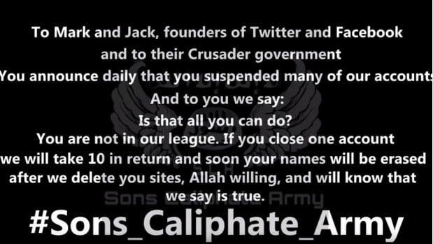 Estado Islâmico mark zuckerberg e jack dorsey são ameaçados de morte pelo isis