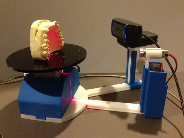scanner 3d scanner 3d feito de arduino pode facilitar cópia de objetos