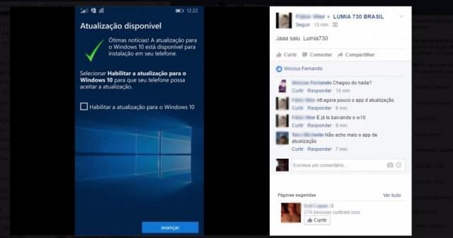 Windows 10 Mobile microsoft: windows 10 mobile está disponível para lumias
