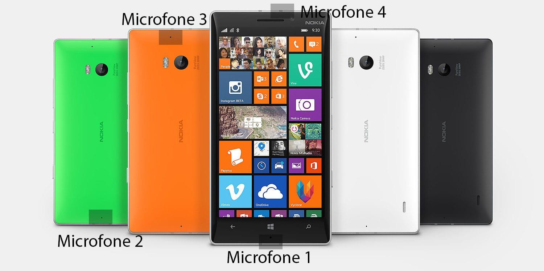 Lumia 930 lumia 930: como mapear e reparar microfones defeituosos