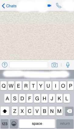 Whatsapp vídeo chamadas chega ao whatsapp beta no ios