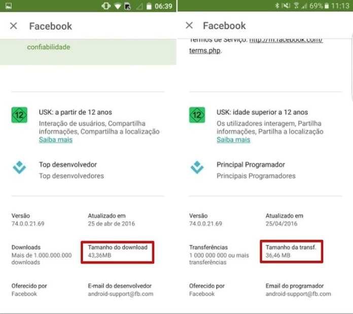 Google Play google play agora mostra o tamanho da atualização de aplicativos Google Play agora mostra o tamanho da atualização de aplicativos android play store atualizacao w782