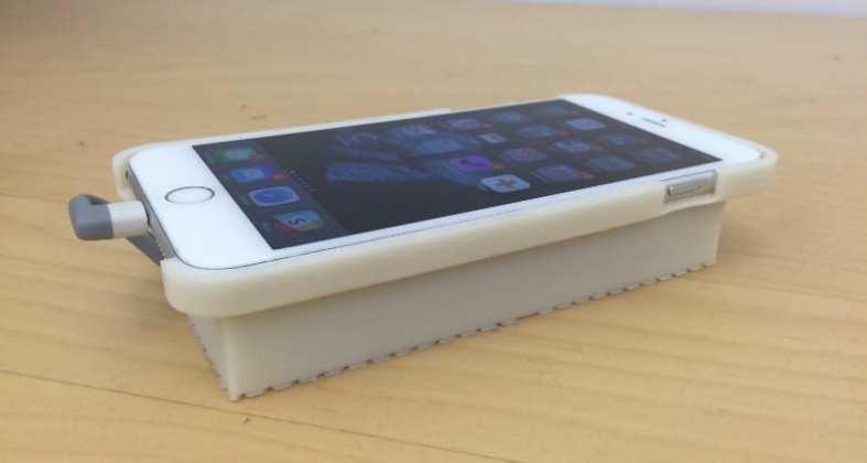esta case foi desenvolvida para rodar android em um iphone