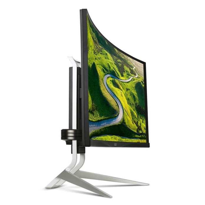 Acer acer inova e recebe prêmios durante a computex 2016 Acer inova e recebe prêmios durante a Computex 2016 Acer XR342CK side view