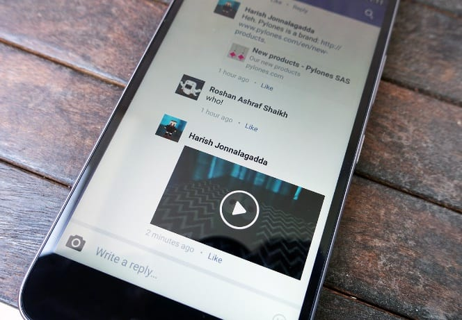 (Foto: AndroidCentral) facebook: agora você pode postar vídeos em comentários