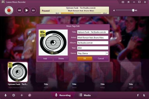 Leawo Music Recorder torne-se um profissional da música com o leawo music recorder Torne-se um profissional da música com o Leawo Music Recorder leawoThree