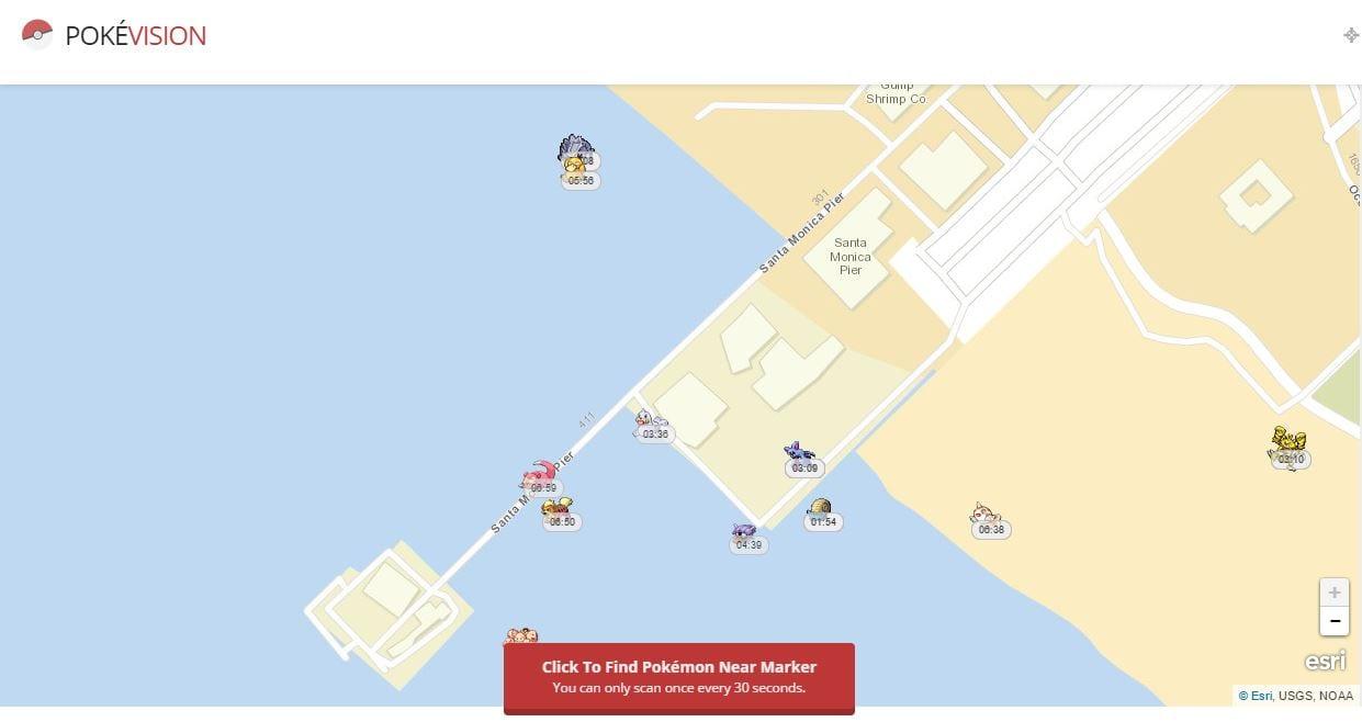PokéVision pokévision: mapa mostra onde estão pokémons de pokémon go sem sair casa