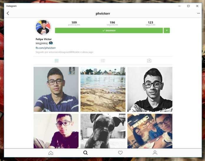 Instagram instagram chega oficialmente para computadores e tablets com windows 10 Instagram chega oficialmente para Computadores e Tablets com Windows 10 profile