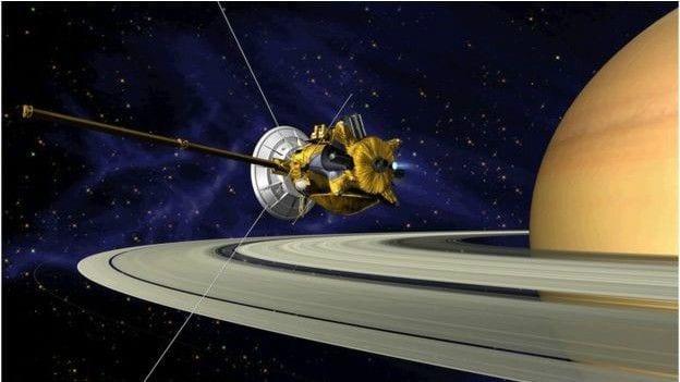 Cassini sonda espacial 'cassini', da nasa se prepara para fim 'épico' em saturno Sonda espacial 'Cassini', da NASA se prepara para fim 'épico' em Saturno lua saturno3