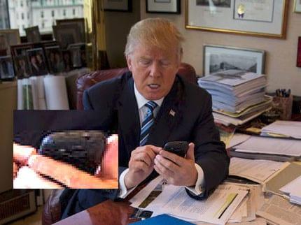 Trump donald trump usa celular android da samsung, lançado em 2012 Donald Trump usa celular Android da Samsung, lançado em 2012 trump phone
