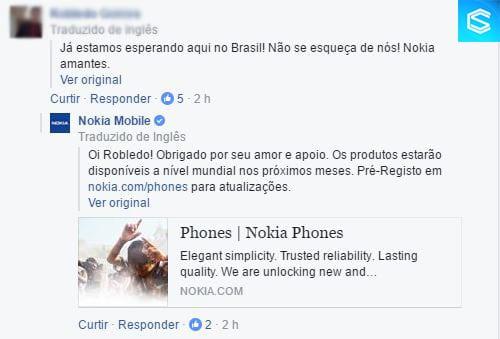 Nokia 6 nokia 6 vai ser vendido no brasil, afirma nokia