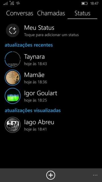 """Whatsapp Status whatsapp status: aplicativo lança """"histórias"""" mas remove recurso de status em texto Whatsapp Status: Aplicativo lança """"histórias"""" mas remove recurso de Status em texto thumbnail wp ss 20170222 0004"""