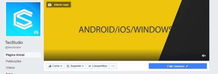 Capa Facebook facebook: agora é possível usar vídeo como capa