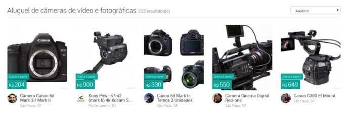 CenaZERO cenazero: já é possível alugar equipamentos de filmagem via internet CenaZERO: Já é possível alugar equipamentos de filmagem via internet cameras cena zero