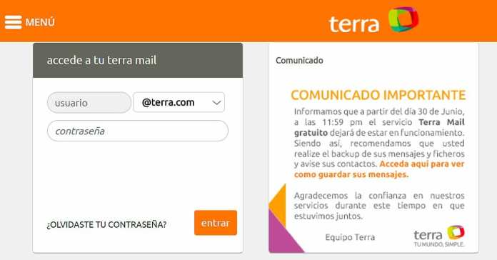 "portal terra anuncia fim do ""terra mail"" gratuito Portal Terra anuncia fim do ""Terra Mail"" gratuito terra 1"