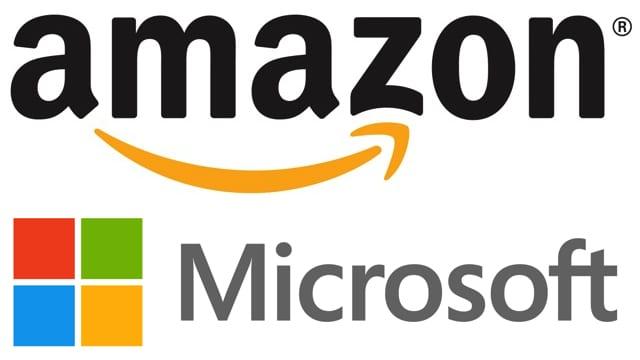 Amazon e Microsof juntas pelo futuro.