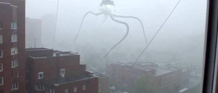 ataques alienígenas na Rússia