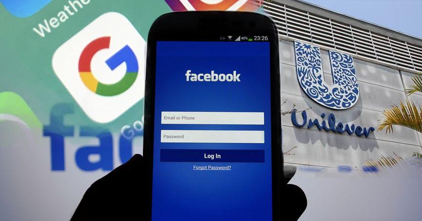 Unilever ameaça retirar anúncios do Facebook e Google
