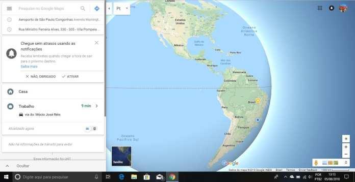 Google Maps google maps Google Maps recebe atualização e 'acaba' com a terra plana maps
