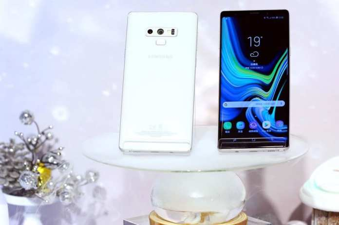 "Galaxy Note 9 galaxy note 9 samsung note 9 branco galaxy note branco Galaxy Note 9: Samsung anuncia variante ""Branca como a Neve"" em Taiwan galaxy note 9 in white 1 1"