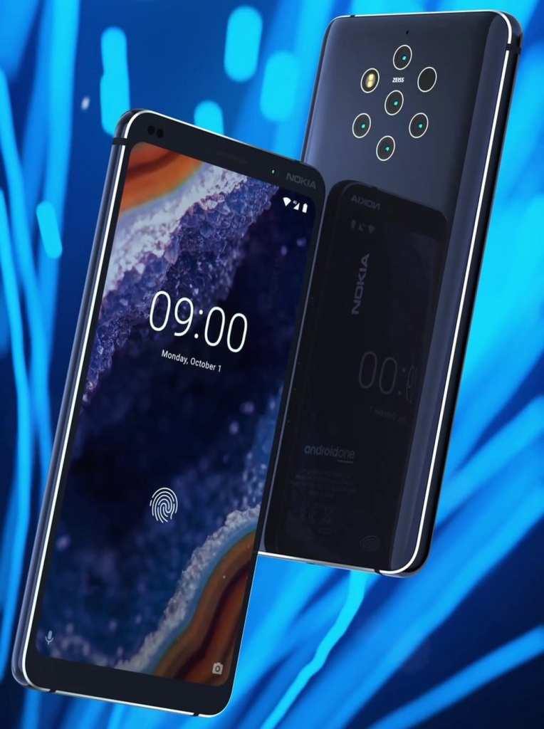 """Nokia 9 nokia 9 Com tecnologia """"PureView"""", Nokia 9 vaza na internet e revela cinco câmeras nokia9"""