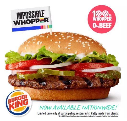 burger king lança hambúrguer com carne 'fake' e gosto idêntico Burger King lança hambúrguer com carne 'fake' e gosto idêntico impossible whopper