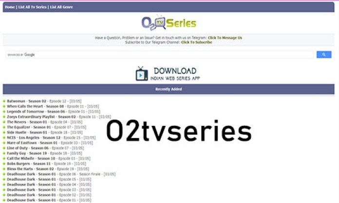O2tvseries:  Download Free 2019, 2020, 2021 Latest TV Shows & Series on o2tvseries.com