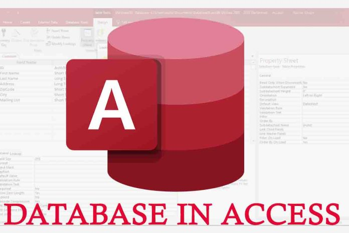 Database in Access