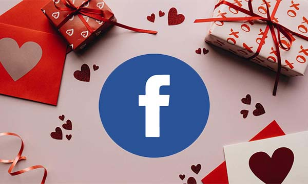 Valentine's Day Filters on Facebook
