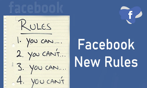 Facebook New Rules - Facebook Rules for Contests   Facebook Group New Rules