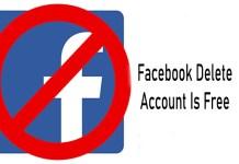 Facebook Delete Account Is Free - Facebook Account Delete   Facebook Account Deactivation