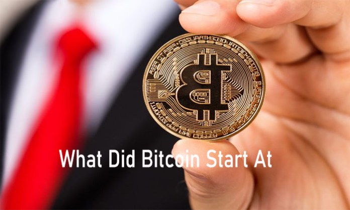 What Did Bitcoin Start At - Bitcoin Price History / Bitcoin Price 2009 To 2021