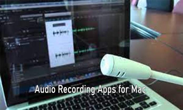 Audio Recording Apps for Mac - Mac App Audio Recording Software Free