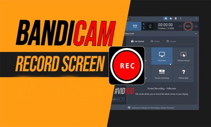 Bandicam -  Best Free Screen Recorder Download for Games and On-Screen Display