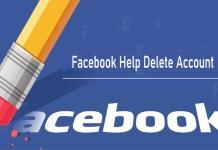 Facebook Help Delete Account - Facebook Delete Account - How to Delete Your Facebook Account